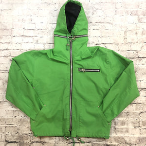 WIPETTE RAINTHINGS Green Raincoat Size S