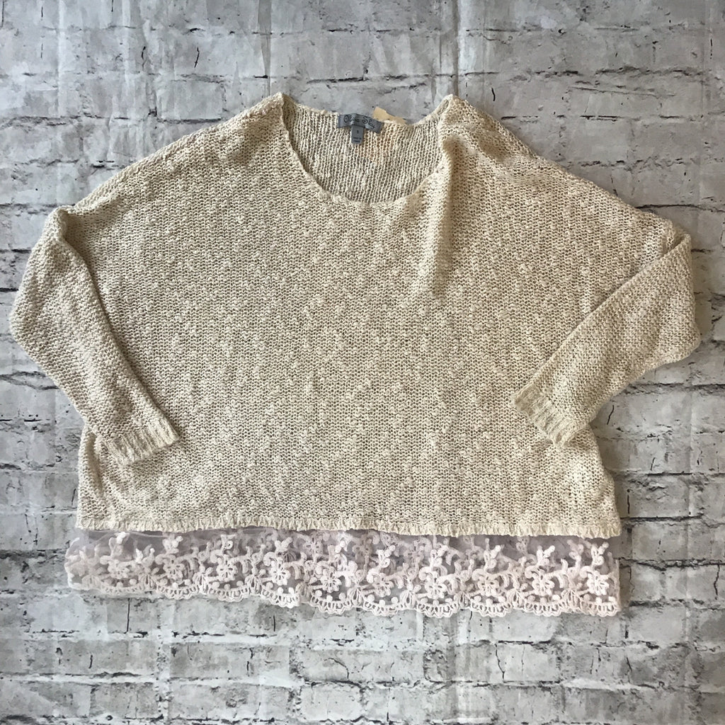 OLIVIA SKY SIZE SMALL SWEATER