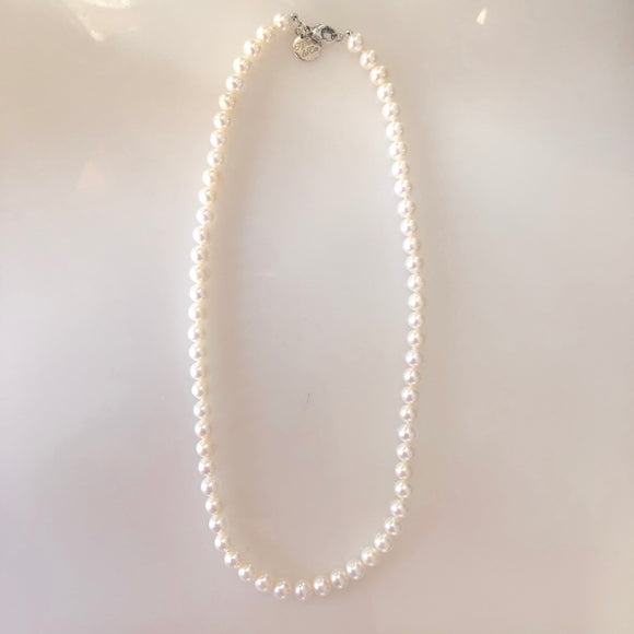 TIFFANY & CO Ziegfeld Collection Pearl Necklace