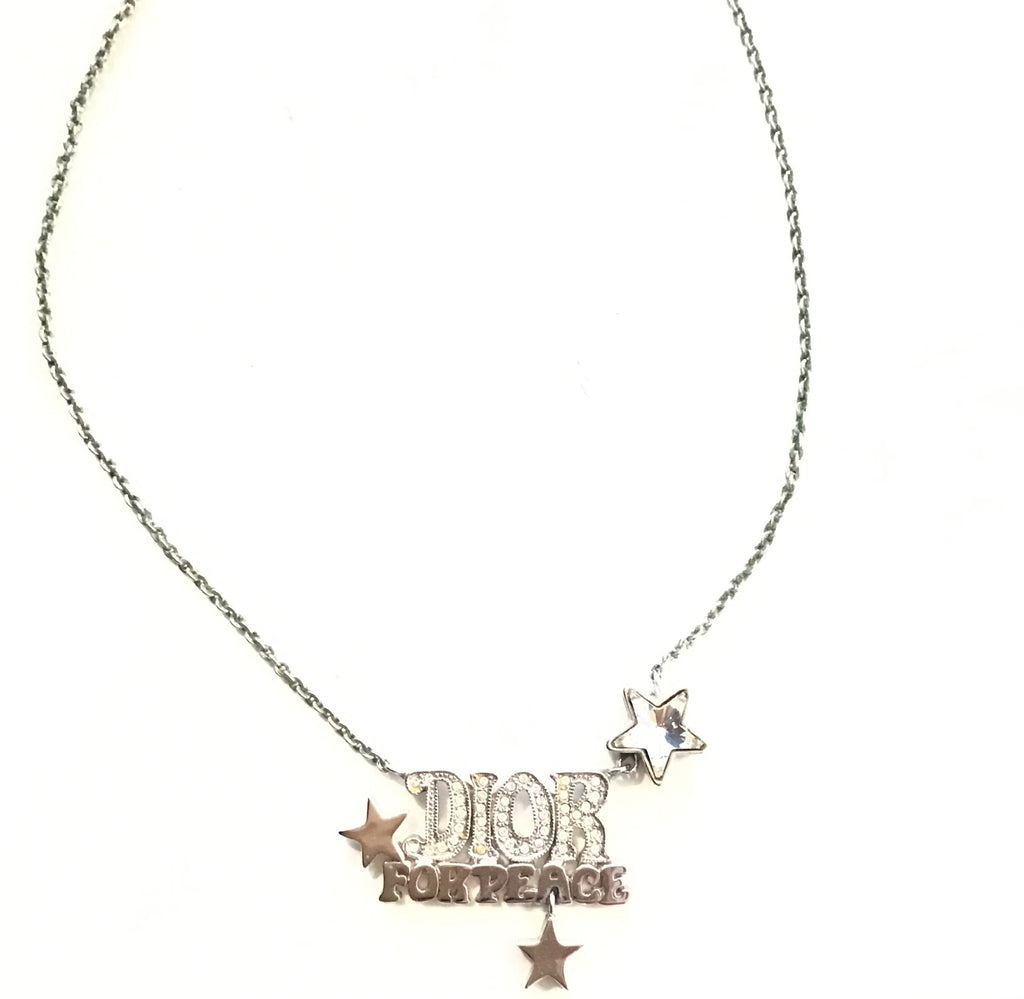 DIOR For Peace Choker Necklace