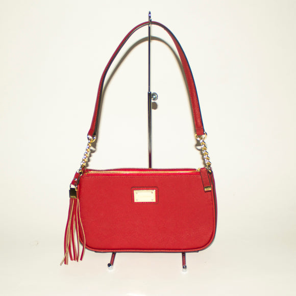 CALVIN KLEIN Small Red Shoulder Bag