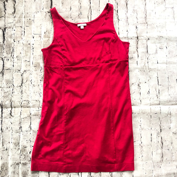 NEW YORK & COMPANY Red Dress Size XL