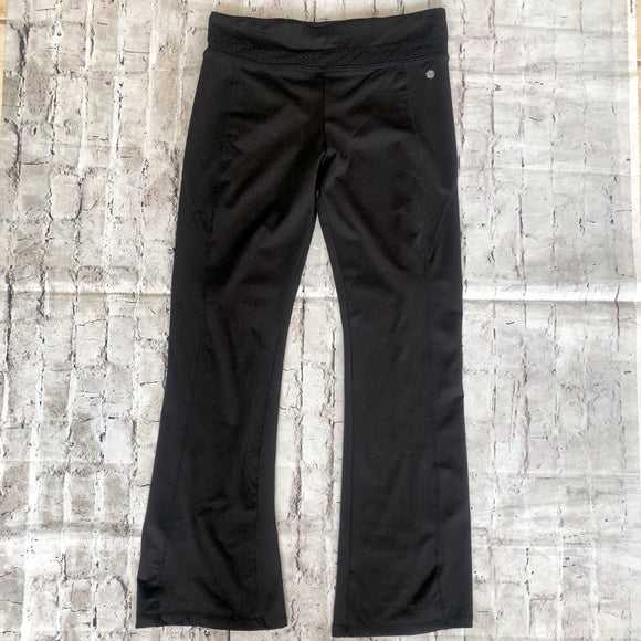 BOUTIQUE Black Bootcut Workout Pants Size L