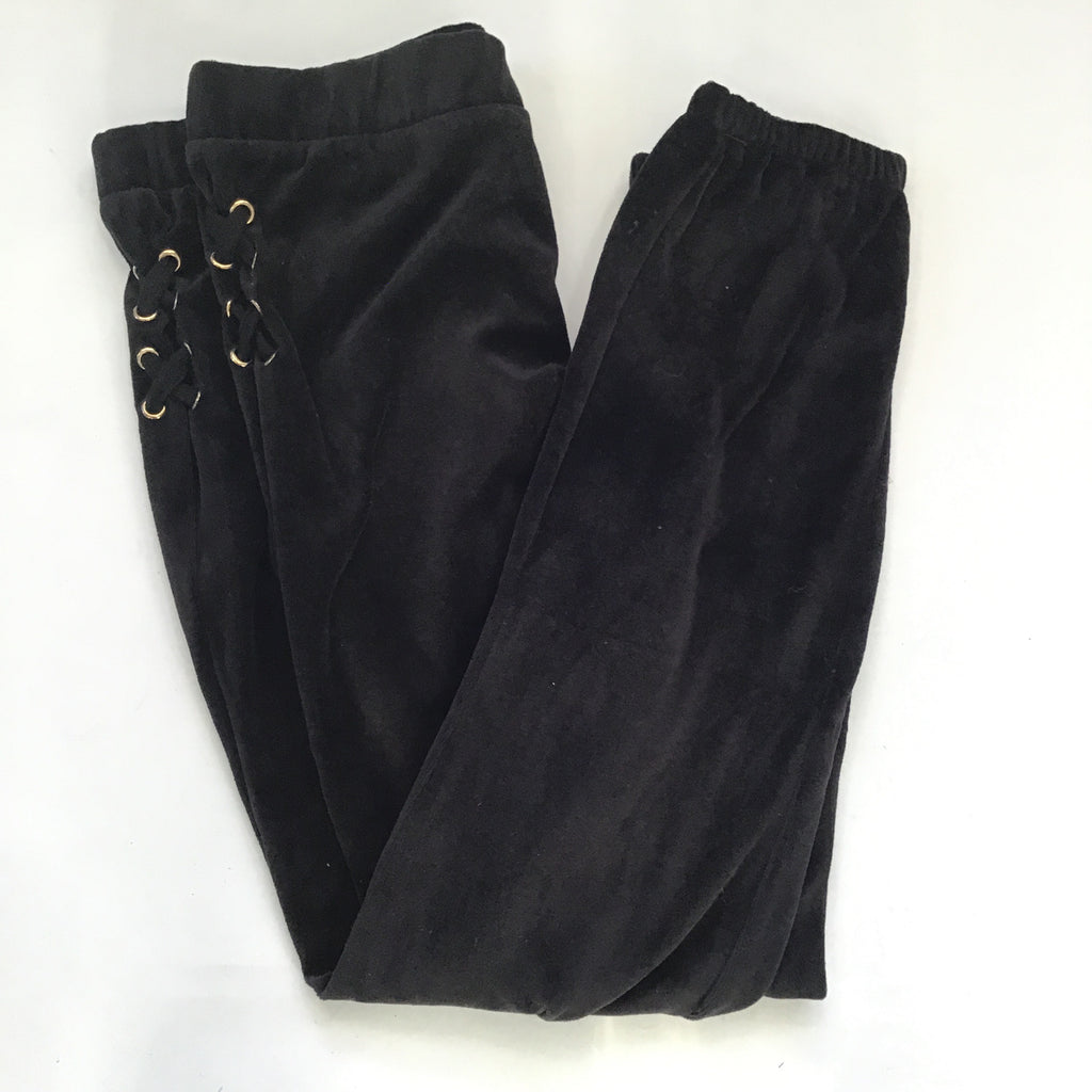 BOUTIQUE Black Velour Joggers Multiple Sizes NWT