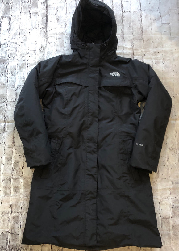 The North Face Women's Arctic Parka Hyvent Trench Size L