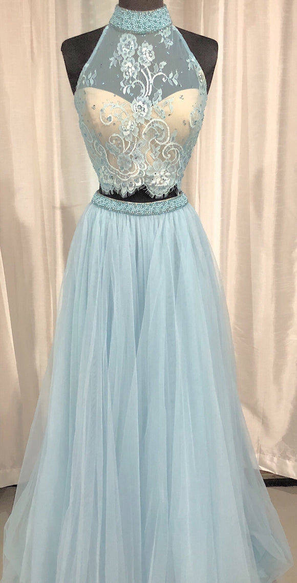 SHERRI HILL LONG TWO PIECE SIZE 12