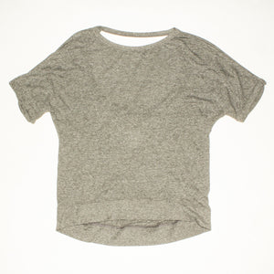 PAM & GELA Grey Open Back Tee