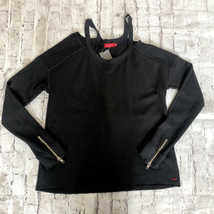 PHILANTHROPY Black Crew Neck Sweatshirt Size S