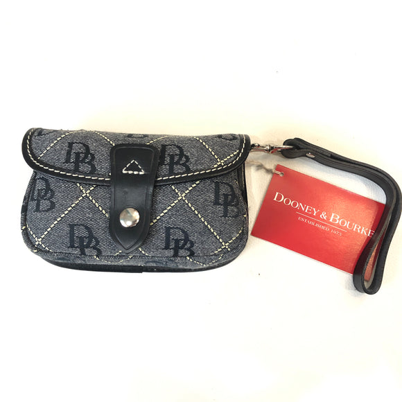 DOONEY & BOURKE Navy Flap Wirstlet NWT