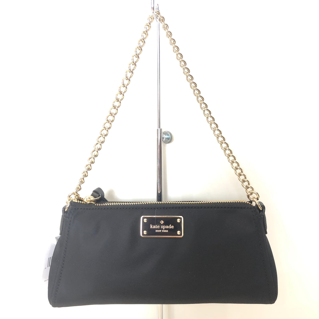 KATE SPADE Black Jane Wilson Road Crossbody Handbag NWT