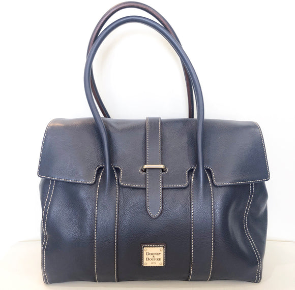 DOONEY & BOURKE Navy Medium Priscilla Handbag NWT