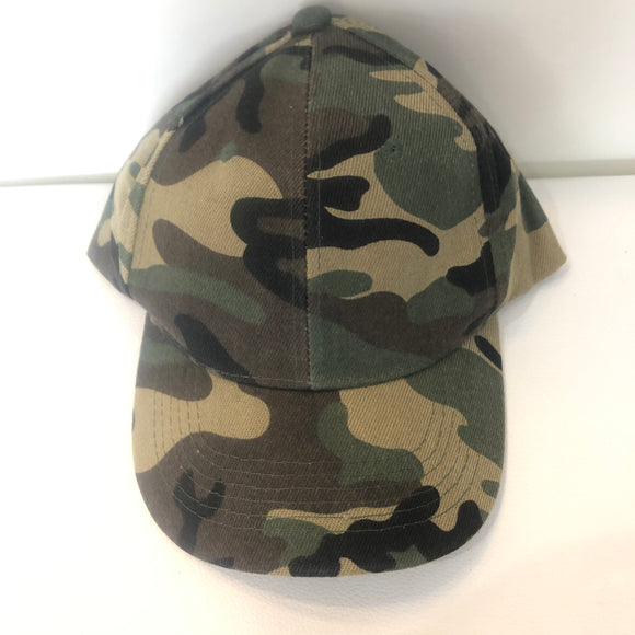 BOUTIQUE Camo Baseball Cap One Size NWT