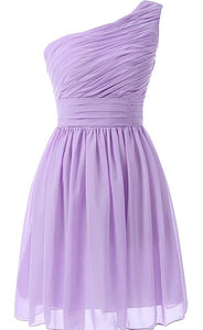 BOUTIQUE Lilac Short Chiffon Dress Multiple Sizes