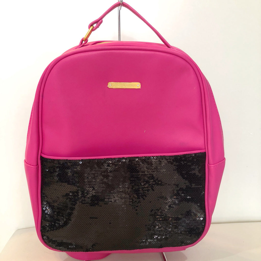 JUICY COUTURE Pink & Black Backpack