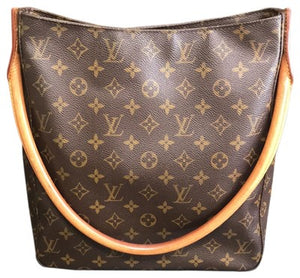 LOUIS VUITTON LOOPING GM MONOGRAM HANDBAG