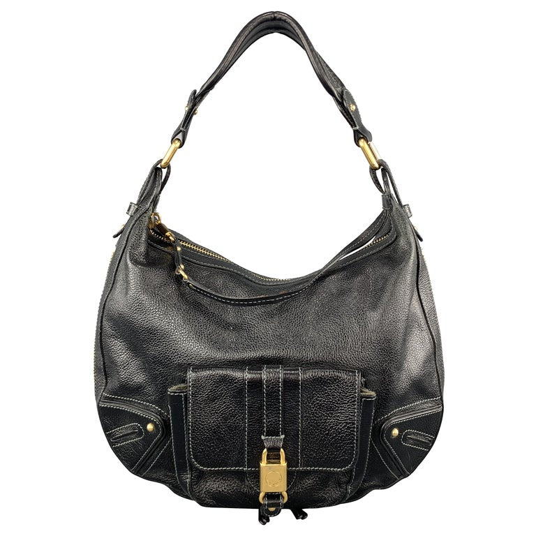 MARC JACOBS Pebbled Leather Hobo