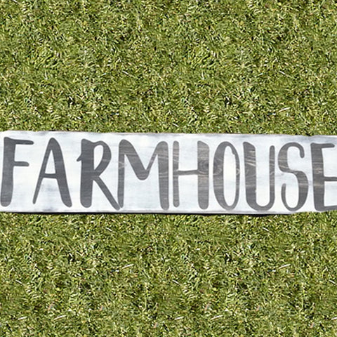 Large Farmhouse Sign