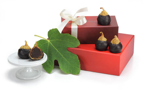 Chocolate Truffle Filled Figs