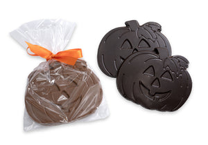 Smiling Chocolate Pumpkins