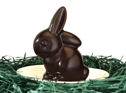 Vegan 70% Chocolate 2.5 oz Bunny