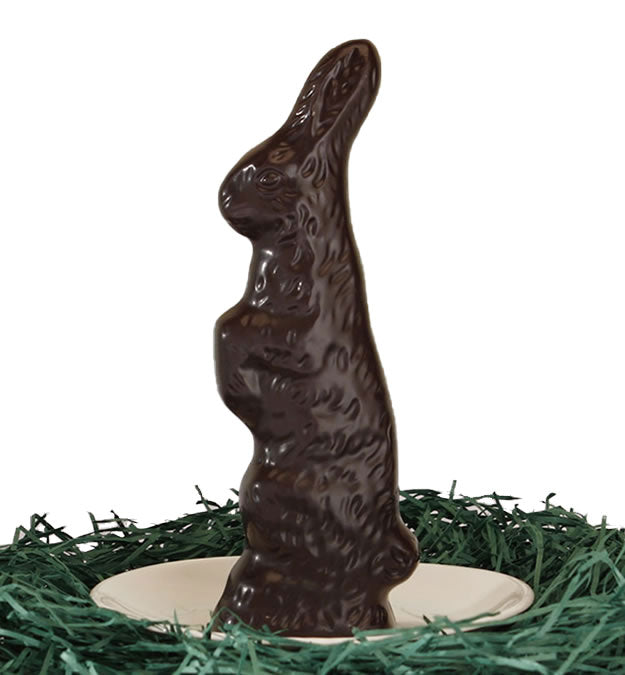 Vegan 70% Chocolate 4 oz Bunny