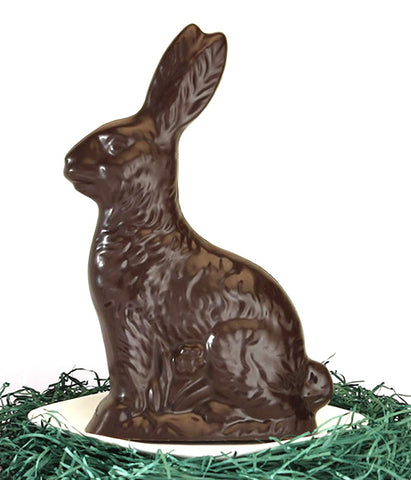 Vegan 70% Chocolate 8 oz Bunny
