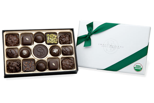 Vegan Organic 70% Dark Chocolate Assortment