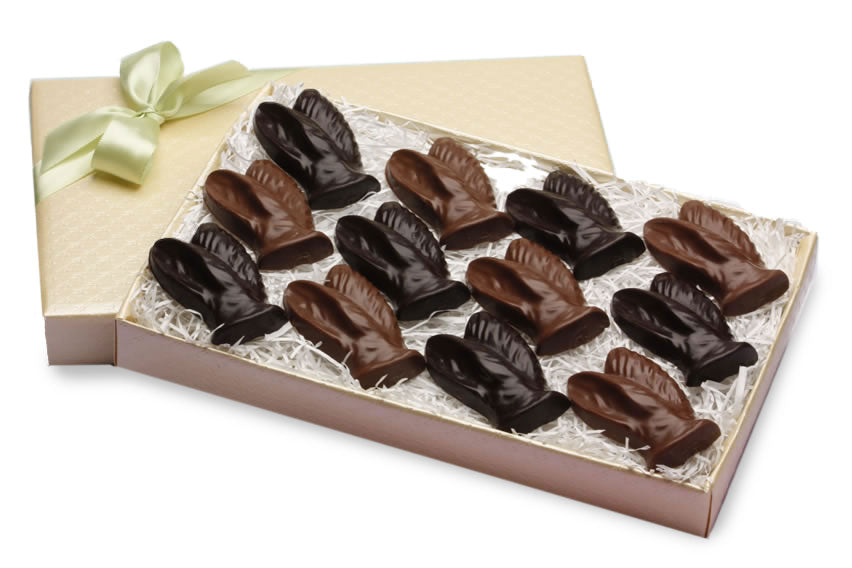 Chocolate Bunny Ears (12 pc)