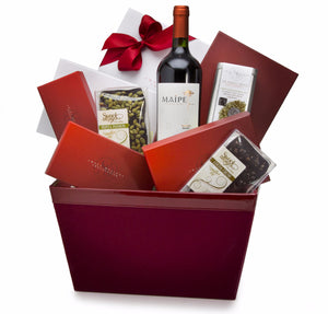 Chocolate and Wine Lover's Basket