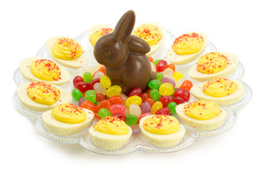 Chocolate Deviled Egg Platter