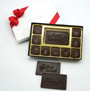 Vegan 70% Dark Chocolate Peanut Butter Cups Gift Box