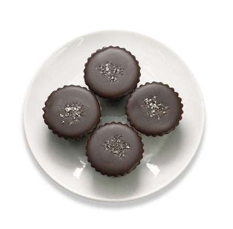 Vegan 70% Dark Chocolate 4 pc. Peanut Butter Cups