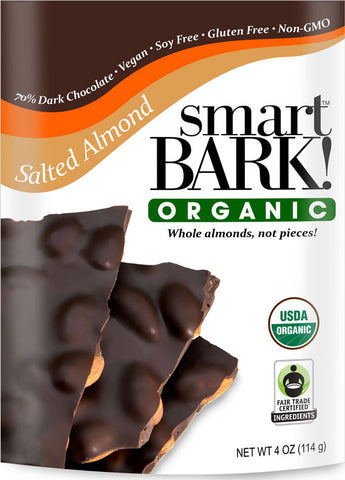 smartBARK! Salted Almond 2 Pack