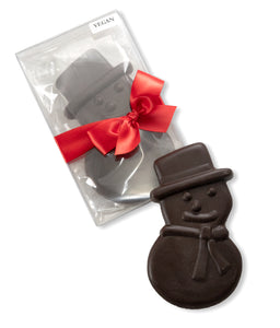 Vegan 70% Chocolate Snowman
