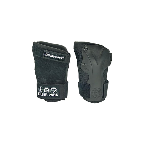 187 DERBY WRIST GUARD (BLACK)