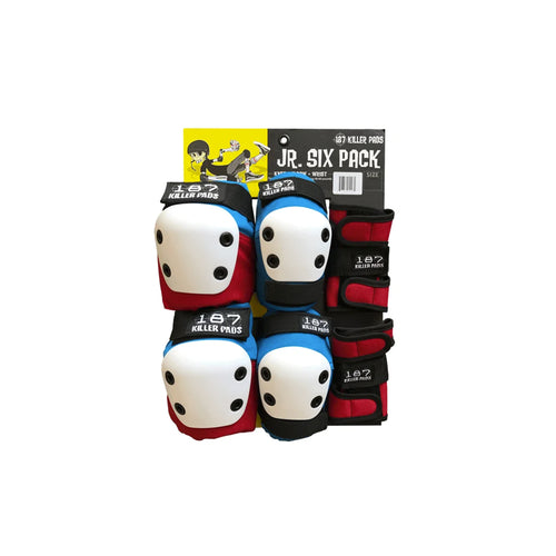 187 SIX PACK JUNIOR (RED/WHITE/BLUE)