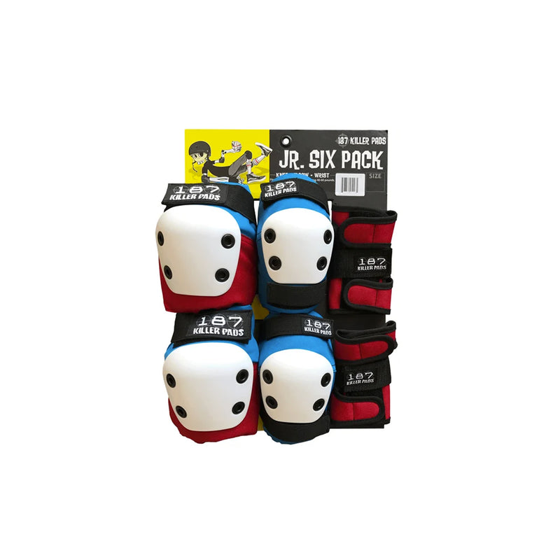 187 SIX PACK JUNIOR (RED/WHITE/BLUE) - Urban Ave Boardshop