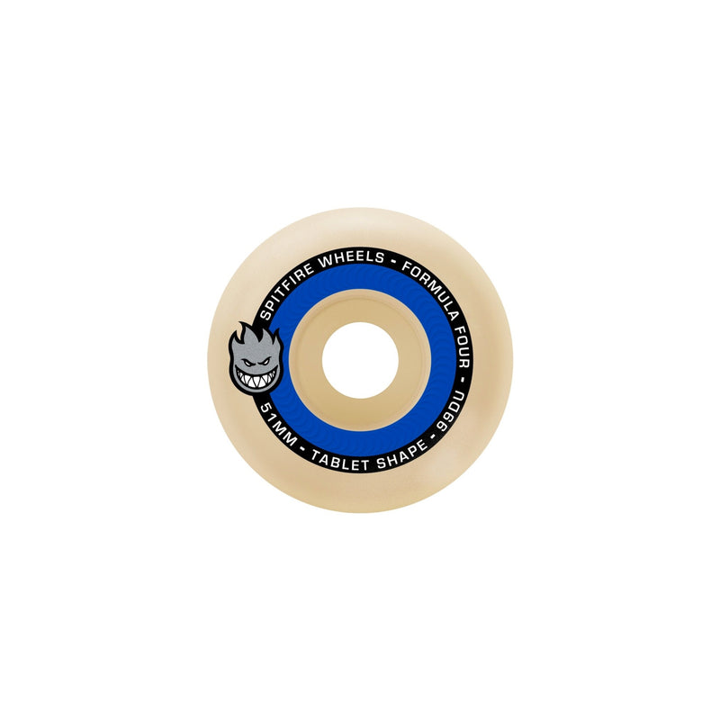 SPITFIRE F4 99 TABLET NATURAL 53MM