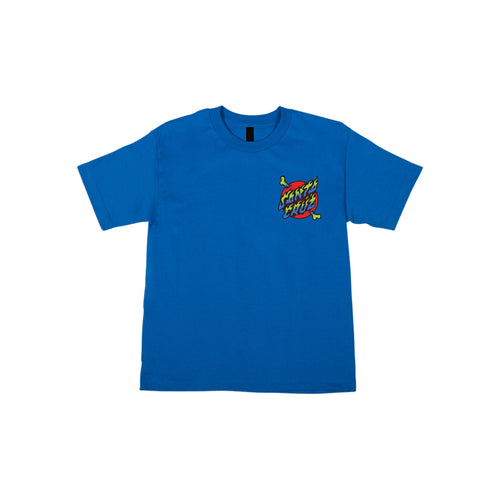 Santa Cruz Crossbone Dot S/S Royal Blue Youth - Urban Ave Boardshop
