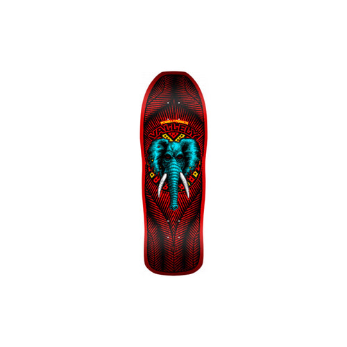 Powell Peralta Vallely Elephant FIRE RED 10 x 30.25 - Urban Ave Boardshop