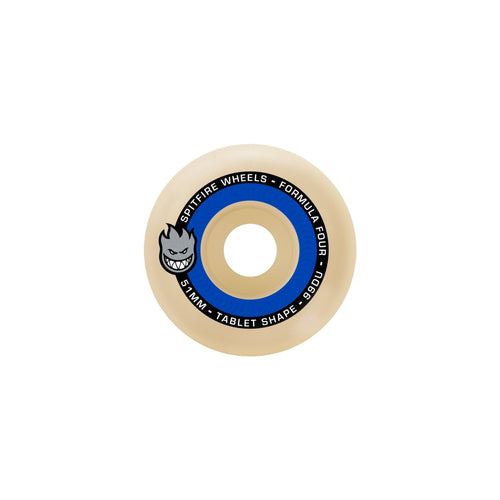 SPITFIRE F4 99 TABLET NATURAL 54MM - Urban Ave Boardshop
