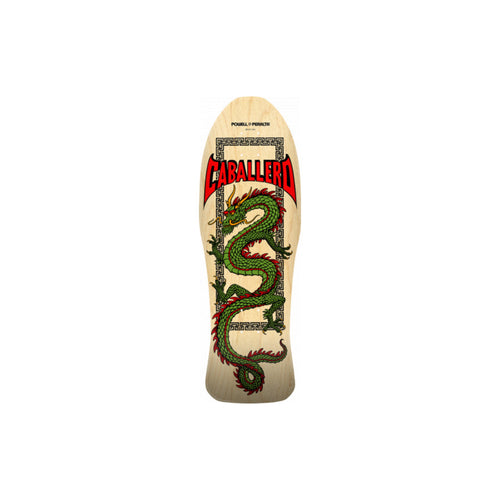 Powell Peralta Steve Caballero Chinese Dragon Natural - 10 x 30 - Urban Ave Boardshop
