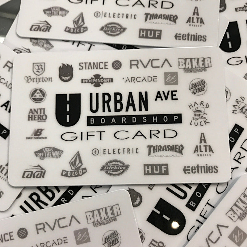 Urban Ave Boardshop Gift Card - Urban Ave Boardshop