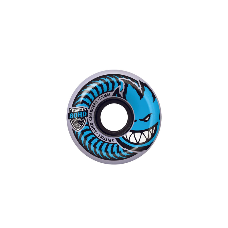 SPITFIRE 80HD CHARGERS CONICAL CLEAR 56mm - Urban Ave Boardshop