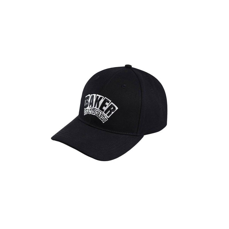 BAKER ARCH BLACK VELCRO CLOSURE HAT - Urban Ave Boardshop