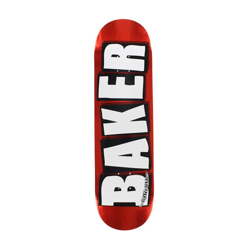 BAKER BRAND NAME LOGO DECK 8.125 x 31.5 - Urban Ave Boardshop