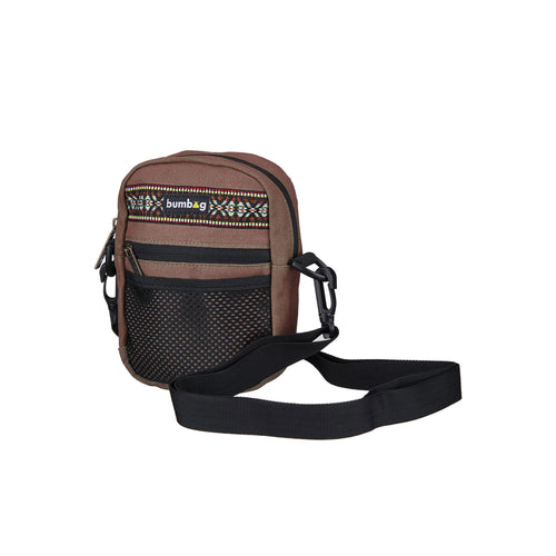 Bumbag Explorer Compact Shoulder Bag Ð Brown - Urban Ave Boardshop