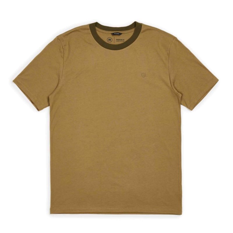 BRIXTON B-SHIELD S/S PRT - DUSTY OLIVE - Urban Ave Boardshop