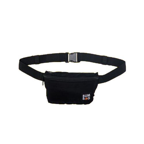 BUMBAG POUCH BASELINE BLACK - Urban Ave Boardshop