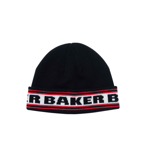 Baker Block Black Beanie - Urban Ave Boardshop